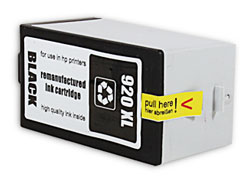 komp. Tintenpatrone, ersetzt HP CD975AE, HP 920XL black black